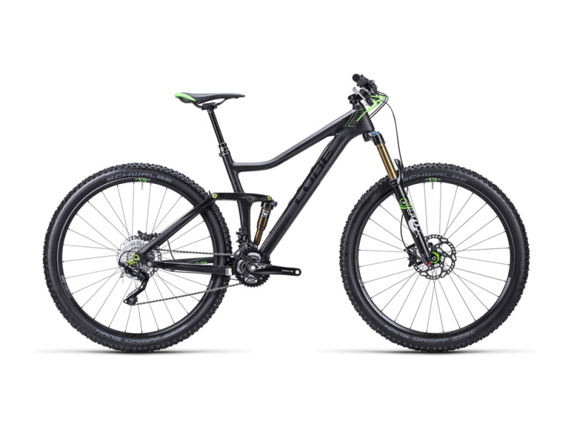 Cube Stereo 140 Super HPC Race carbon´n´green