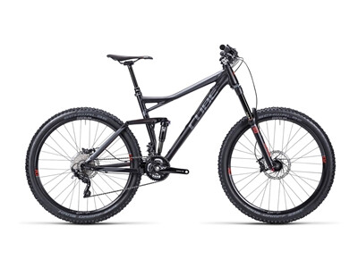 Cube Stereo 160 HPA Race black anodized