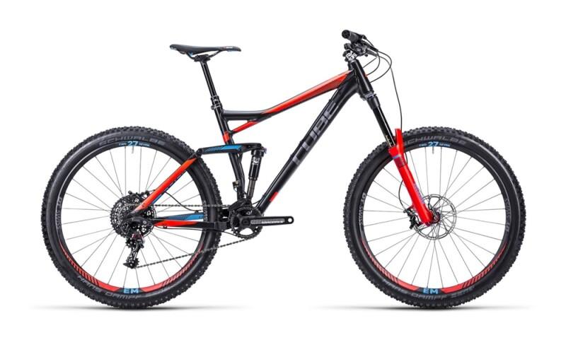 Cube Stereo 160 HPA SL black ´n´ blue ´n´ fla Mountainbike