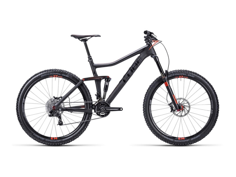 Cube Stereo 160 Super HPC Race carbon´n´flash