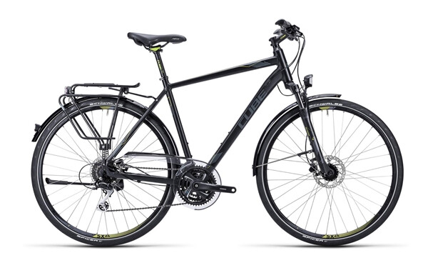 CUBE - Touring Pro black grey lime