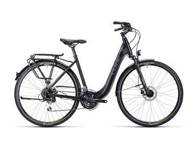 Cube Touring Pro black grey lime / Easy Entry