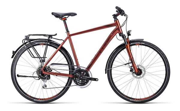 CUBE - Touring Pro metallic red black flashred