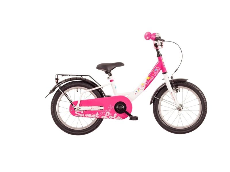 Falter Sweet Lola Stahl Pink/Weiß