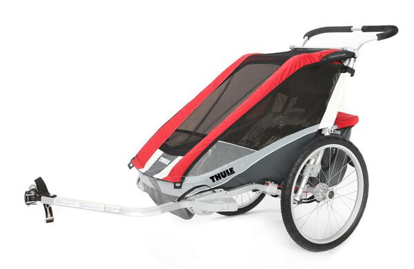 THULE CHARIOT - Chariot Cougar 2 rot/grau