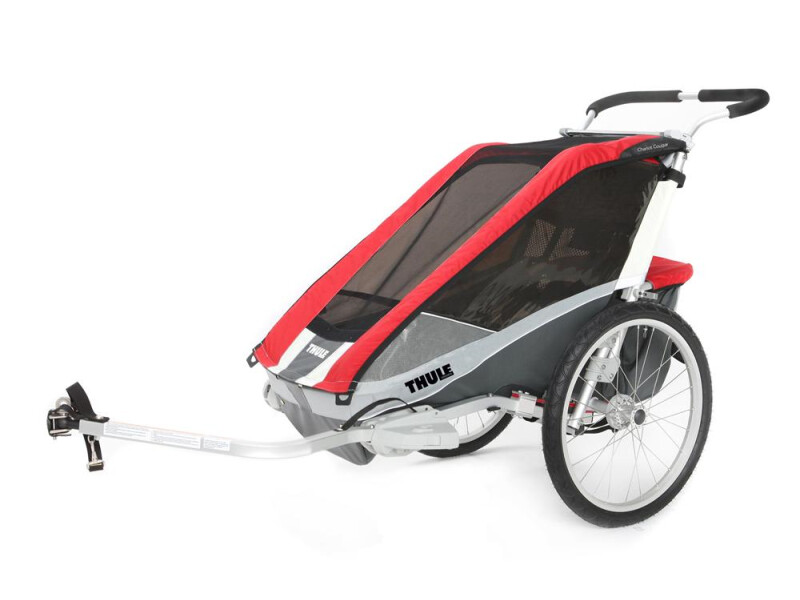 Thule Chariot Chariot Cougar 2 rot/grau