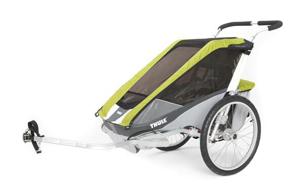 THULE CHARIOT - Chariot Cougar 2 avocado/grau