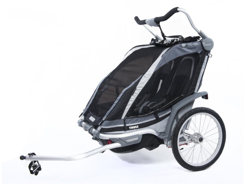 Thule Chariot Chariot Chinook 2 schwarz/silber