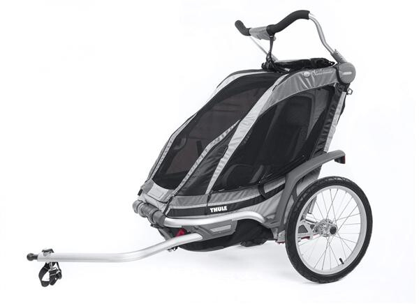 THULE CHARIOT - Chariot Chinook 1 schwarz/silber