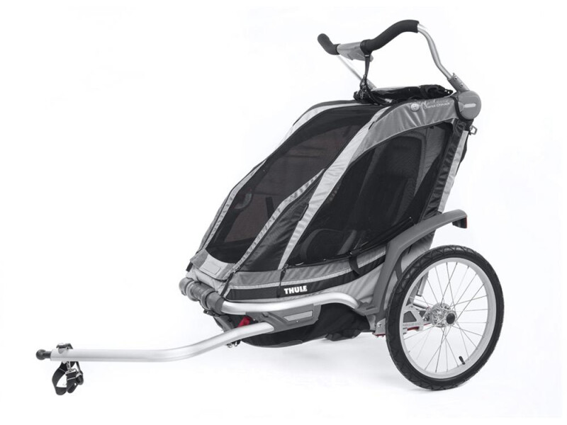 Thule Chariot Chariot Chinook 1 schwarz/silber