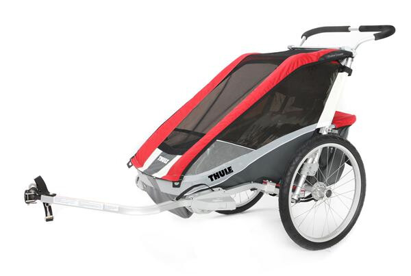 THULE CHARIOT - Chariot Cougar 1 rot/grau