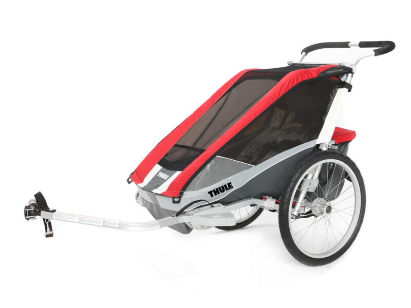 Thule Chariot Chariot Cougar 1 rot/grau