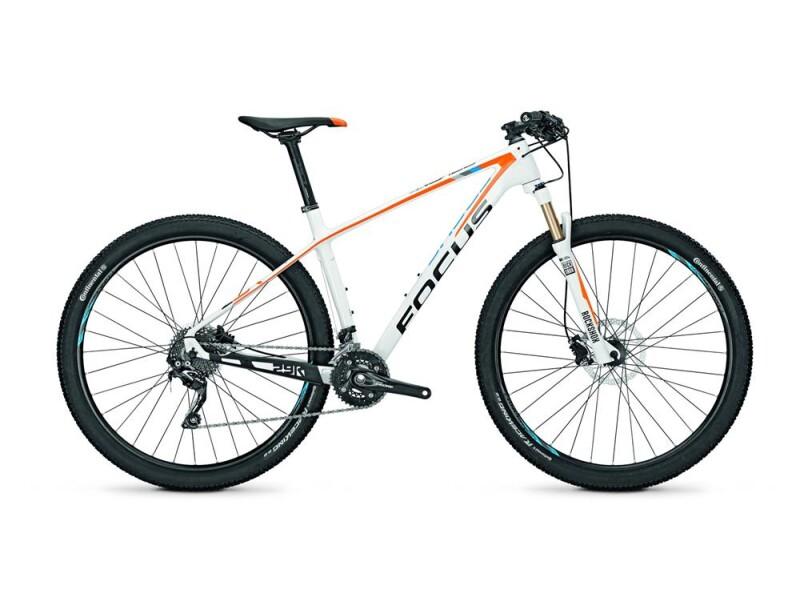 Focus Raven 29R 6.0 White (Orange/Blue) glossy
