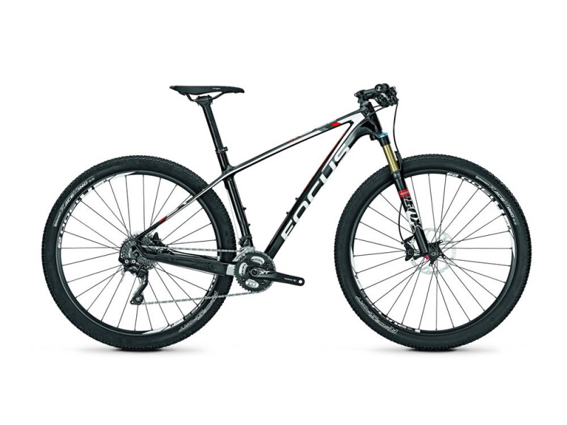 Focus Raven 29R 4.0 Carbon (White/Red) glossy