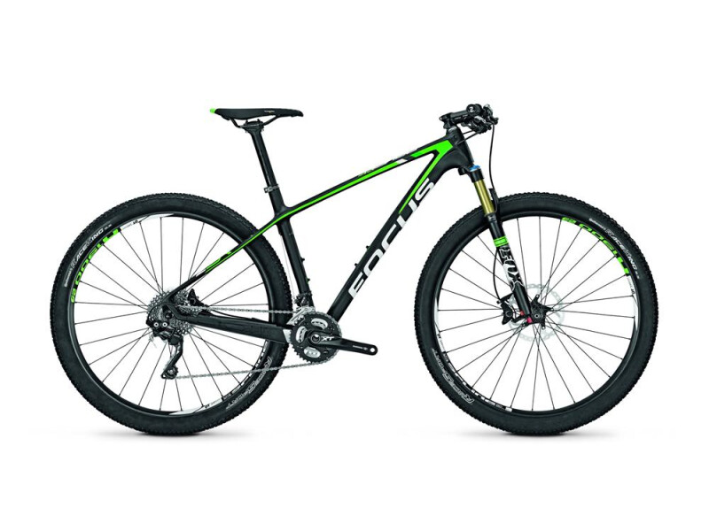 Focus Raven 29R 4.0 Carbon (Neon Green) mat