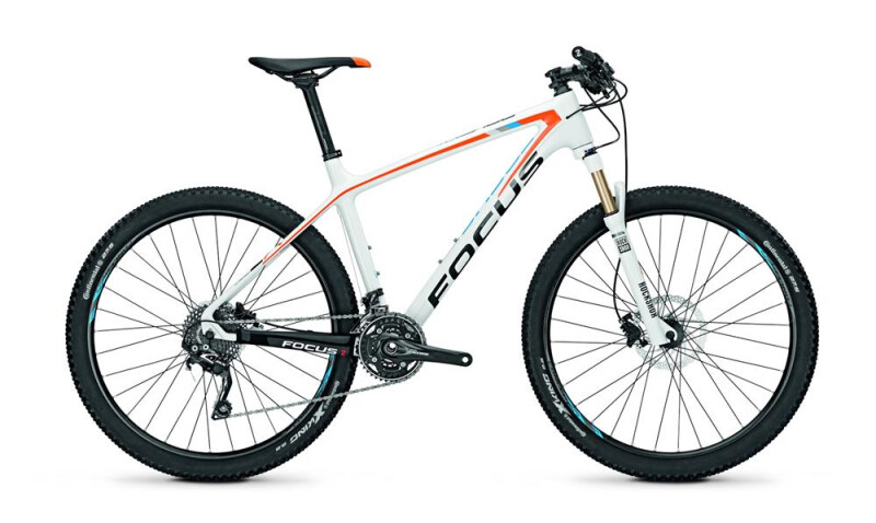 Focus - Raven 27R 6.0 White (Orange/Blue) glossy