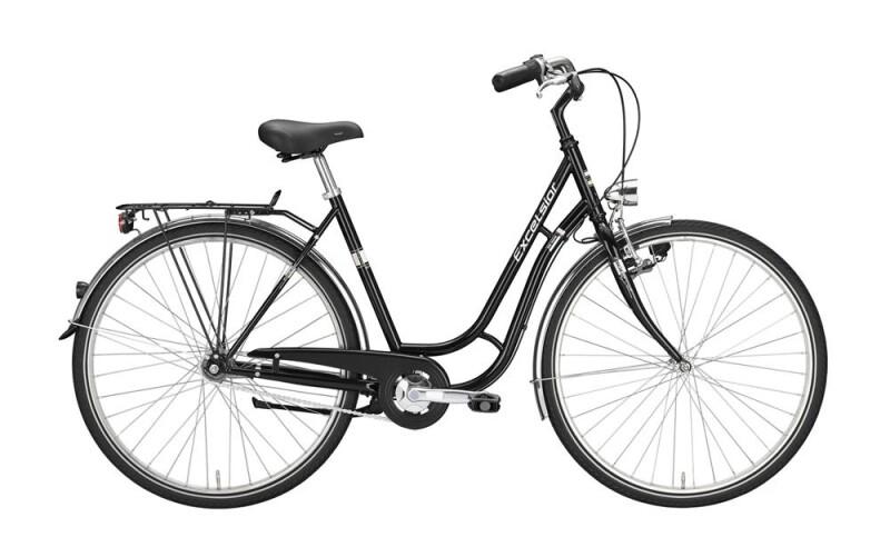 Excelsior Touring Niro / schwarz / TSP Citybike