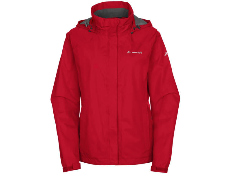 VAUDE Women's Escape Bike Light Jacket rot