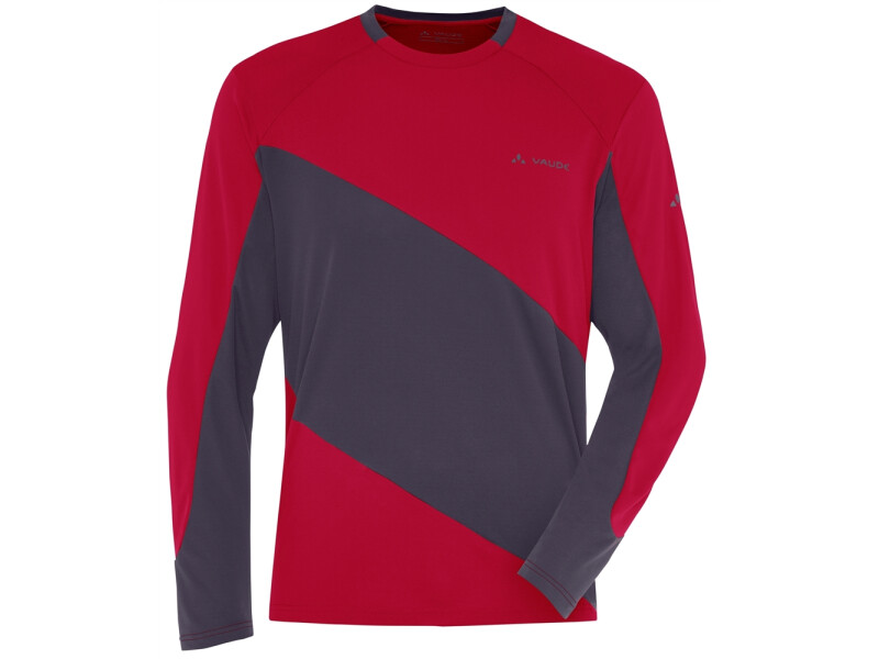 VAUDE Men's Moab Longsleeve Shirt  rot