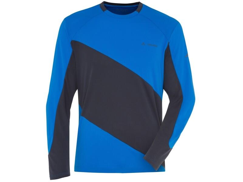 VAUDE Men's Moab Longsleeve Shirt blau