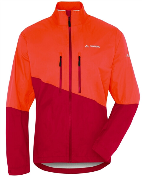 VAUDE - Men's Tremalzo Rain Jacket orange