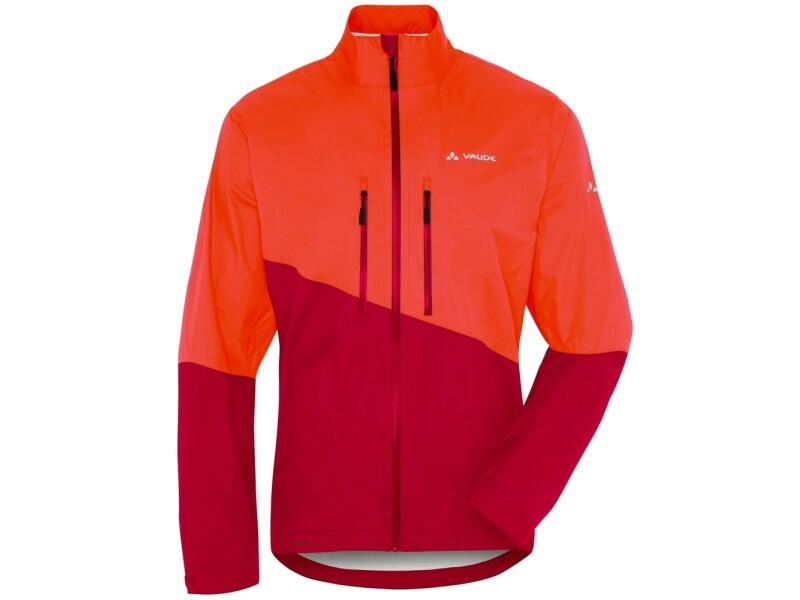 VAUDE Men's Tremalzo Rain Jacket orange