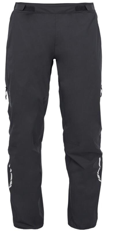 VAUDE Men's Tremalzo Rain Pants schwarz Bekleidung