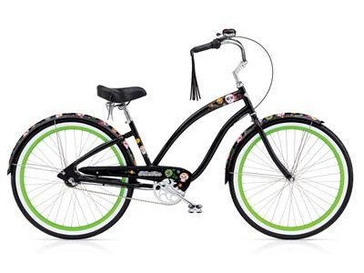 Electra Bicycle - Sugar Skulls 3i Ladies' EU Angebot
