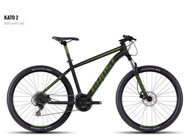 GHOST - Kato 2 black-green-gray
