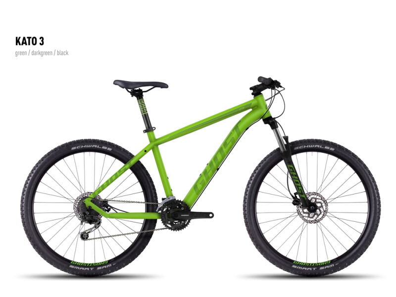 Ghost Kato 3 green-darkgreen-black