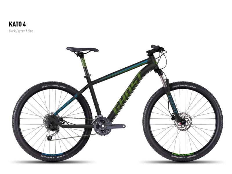 Ghost Kato 4 black-green-blue