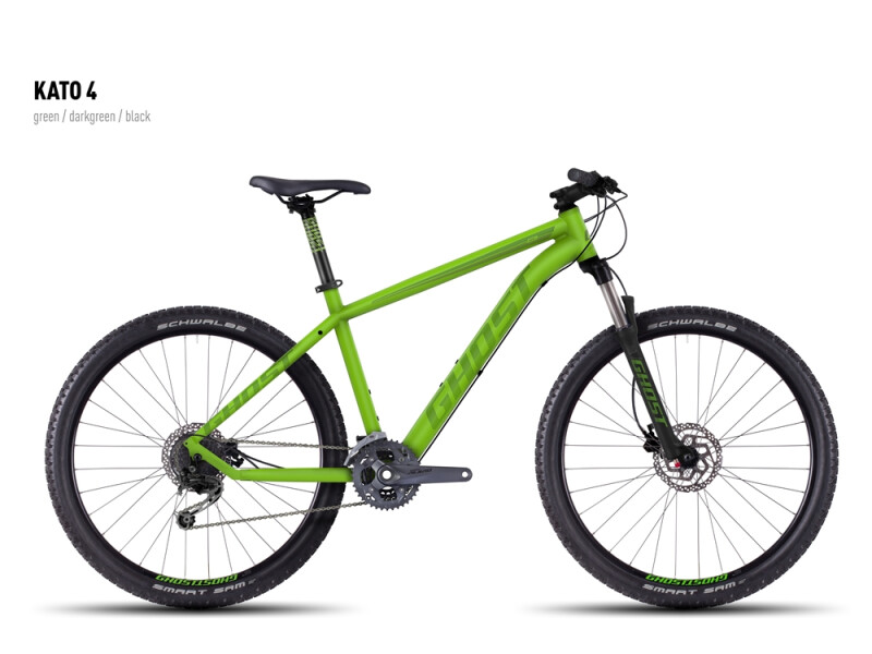 Ghost Kato 4 green-darkgreen-black