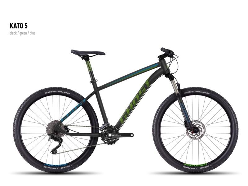 Ghost Kato 5 black-green-blue