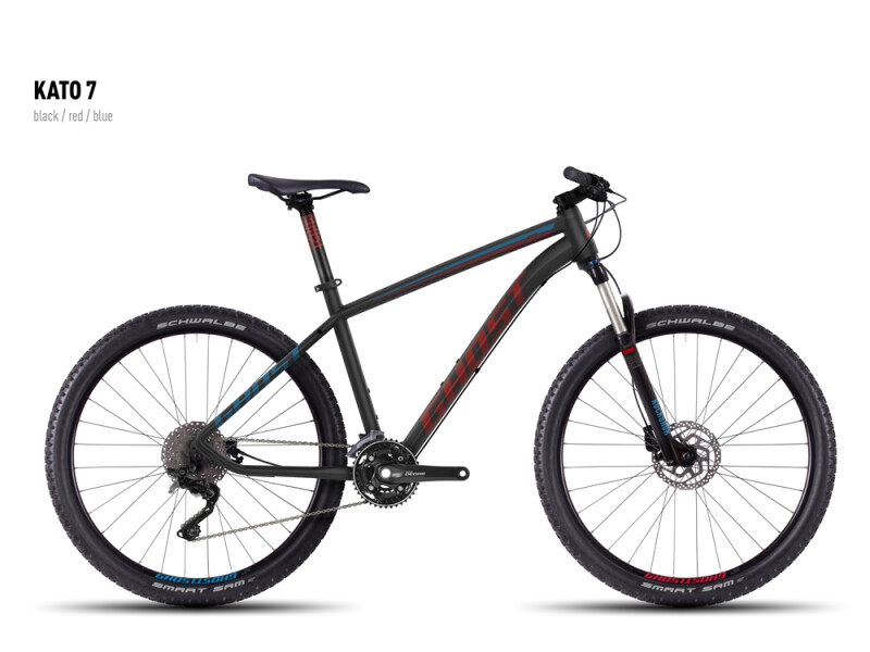 Ghost Kato 7 black-red-blue