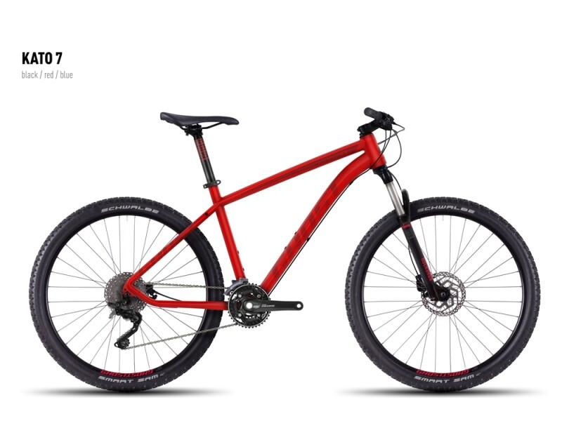 Ghost Kato 7 red-darkred-black