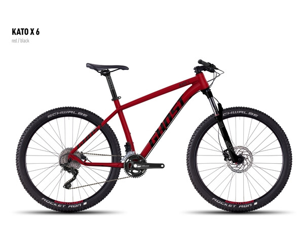 GHOST - Kato X 6 red/black