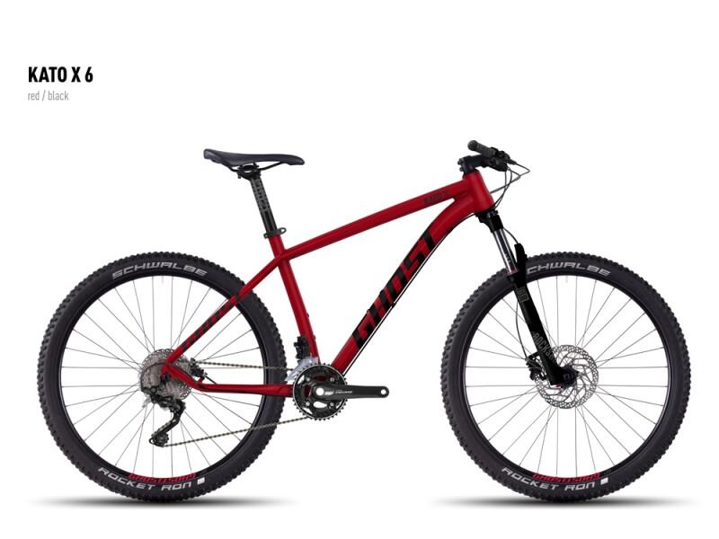 Ghost Kato X 6 red/black