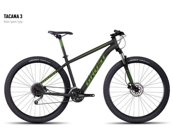 GHOST - Tacana 3 black-green-gray