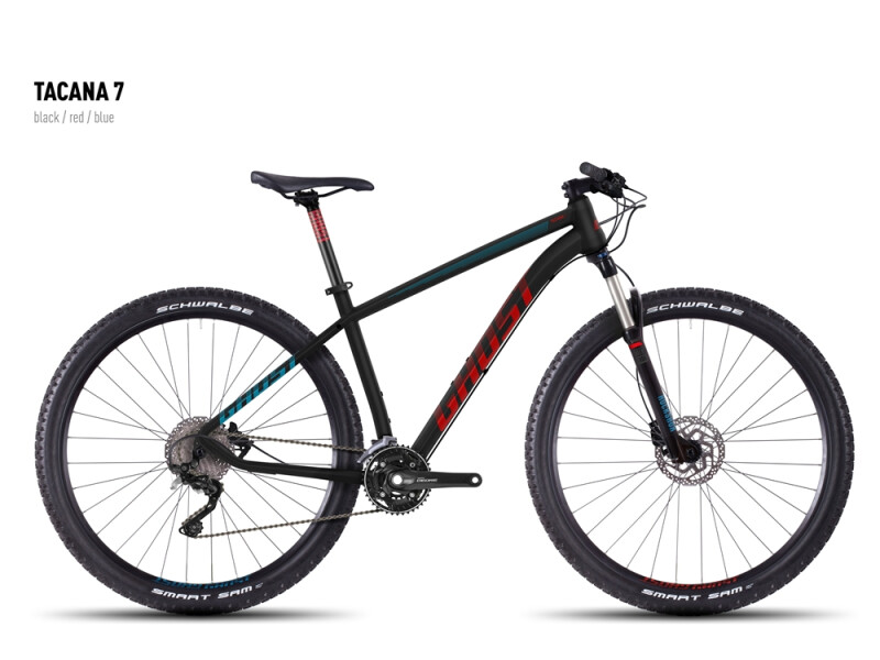 Ghost Tacana 7 black-red-blue