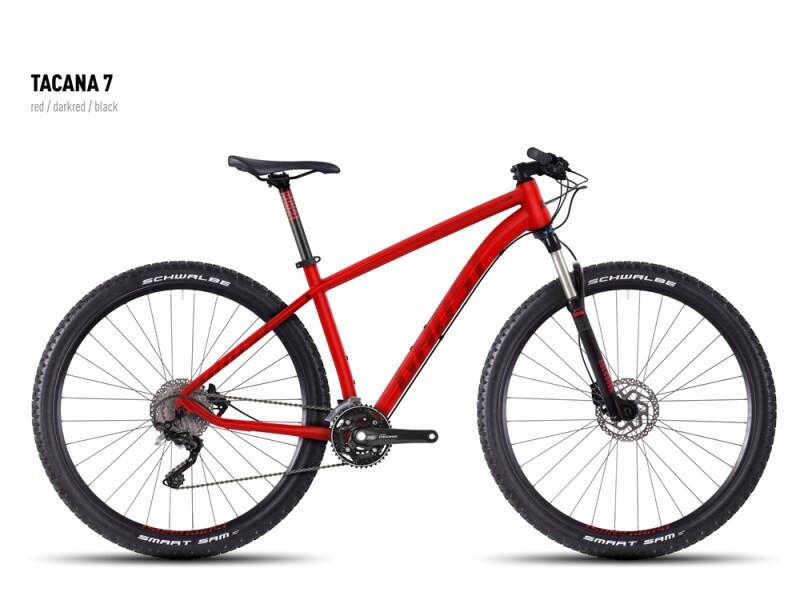 Ghost Tacana 7 red-darkred-black