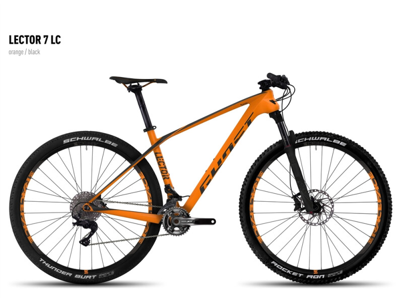 Ghost Lector 7 LC orange/black