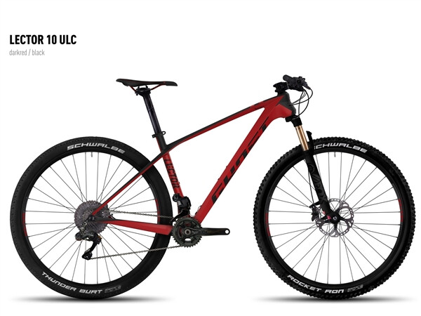 GHOST - Lector 10 ULC darkred/black