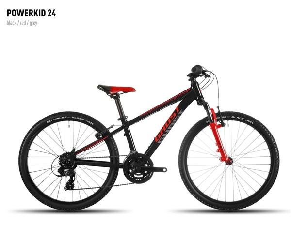 GHOST - Powerkid 24 black-red-gray