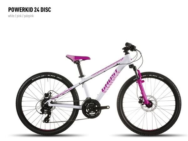 GHOST - Powerkid 24 Disc white-pink-palepink