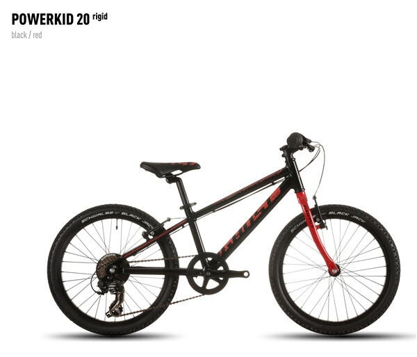 GHOST - Powerkid 20 rigid black/red
