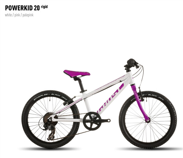 GHOST - Powerkid 20 rigid girl white/pink/palepink