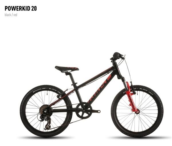 GHOST - Powerkid 20 black/red