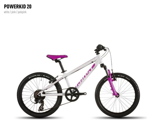 GHOST - Powerkid 20 white/pink/palepink