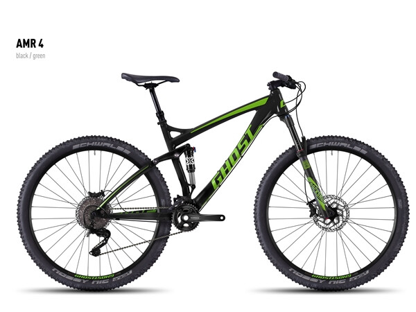 GHOST - AMR 4 black/green