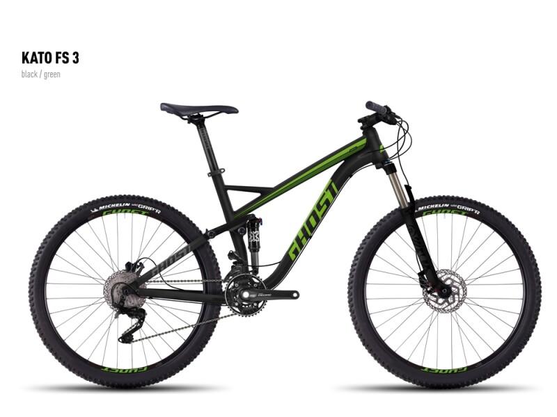 Ghost Kato FS 3 black/green